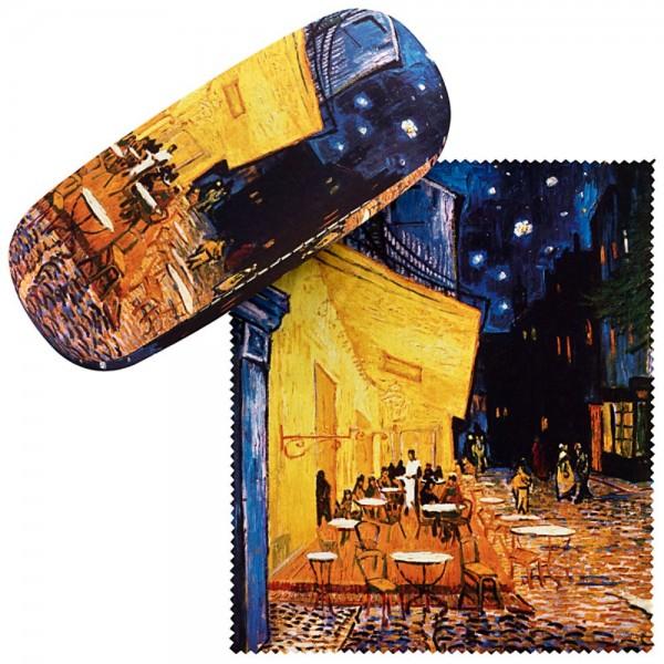 Brillenetui Hardcase Motiv Vincent van Gogh: Nachtcafé