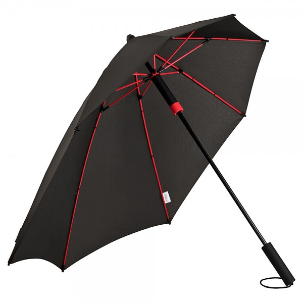 Umbrella Storm Proof Special Shape Alex red