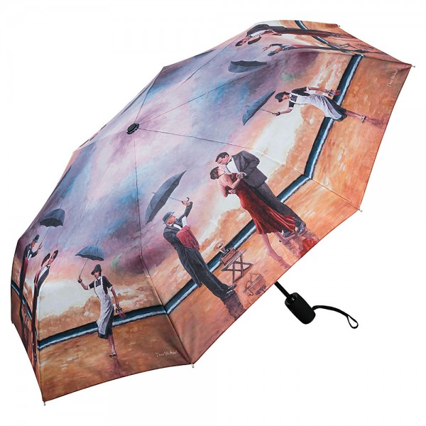Folding Pocket Umbrella Automatic Telescopic Theo Michael: Hommage to the Singing Butler