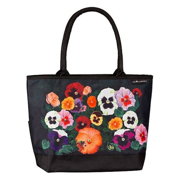 "Tote bag ""Pansies"""