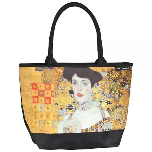 Tasche Shopper bedruckt Kunst Gustav Klimt: Adele