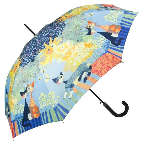 Umbrella Automatic Motif Art Cats Rosina Wachtmeister: Dolce Vita