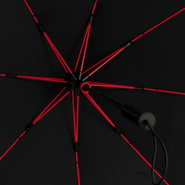 Regenschirm Sturmschirm Alex, rot
