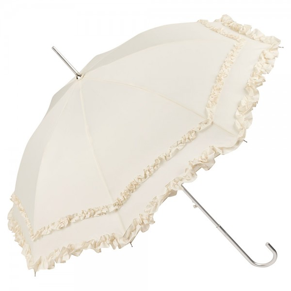"Automatic umbrella ""Mary"" creme"