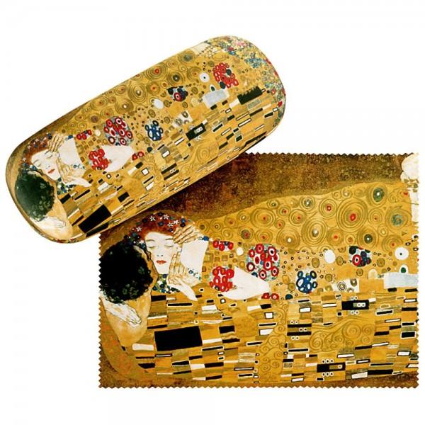 """Glasses case Gustav Klimt: """"The Kiss"""""""