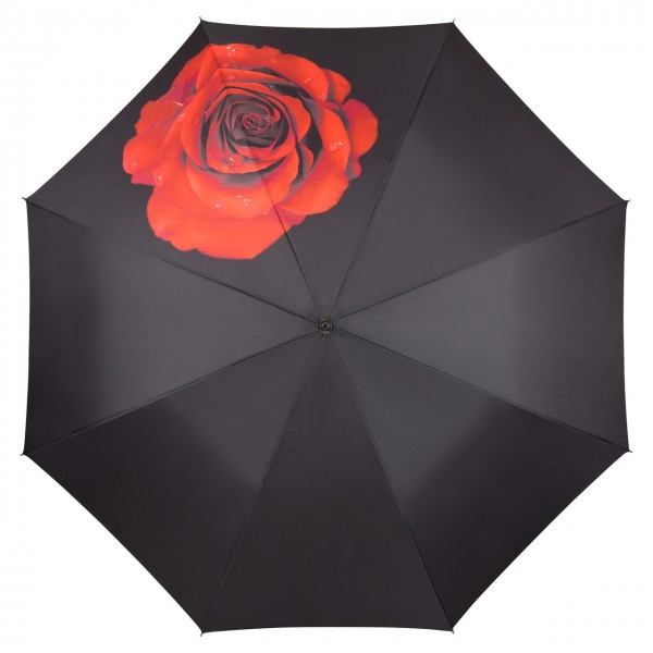 Umbrella Automatic Flower Rose