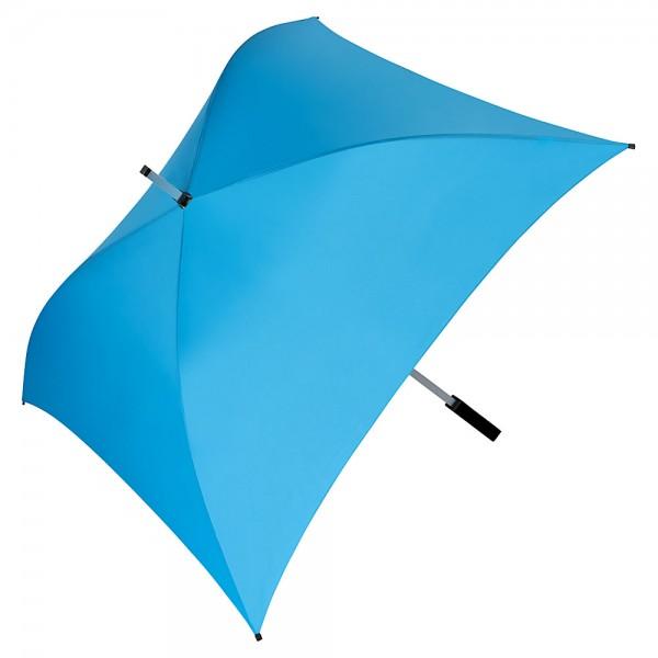 Regenschirm quadratisch Charlie hellblau