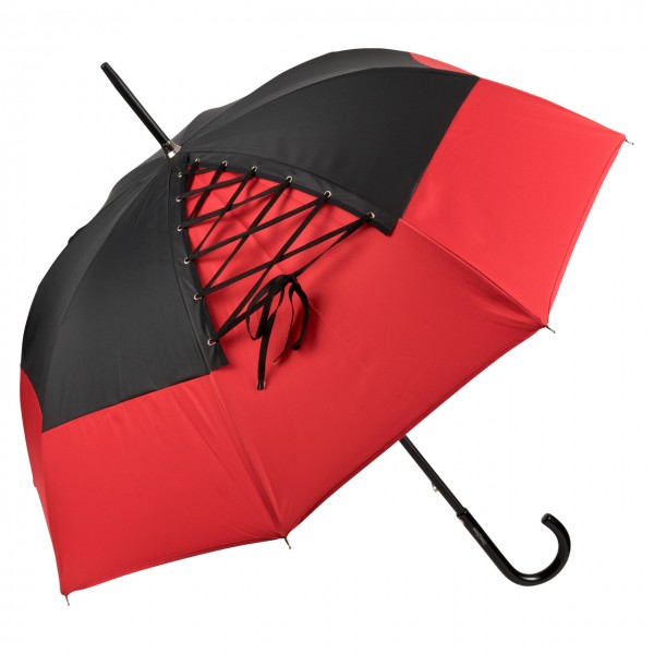 "Design umbrella ""Anouchka"" red"
