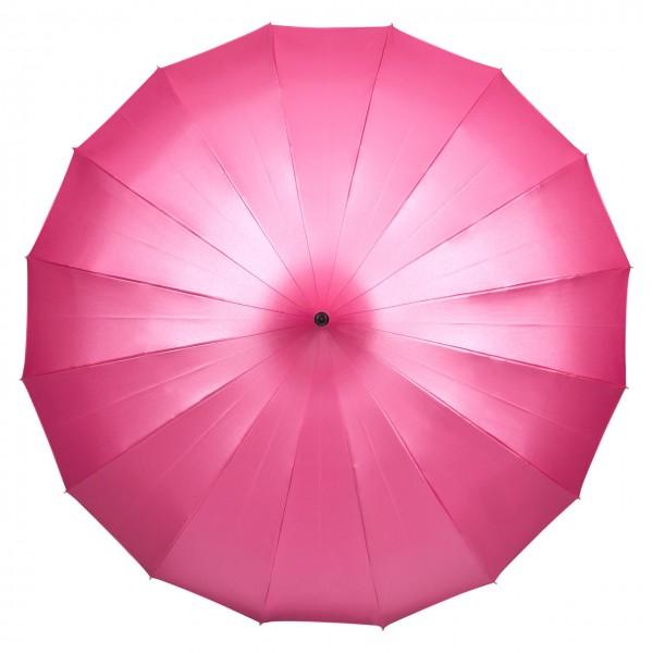"""Regenschirm Sonnenschirm Pagode """"Cécile"""", himbeer (metallic)"""