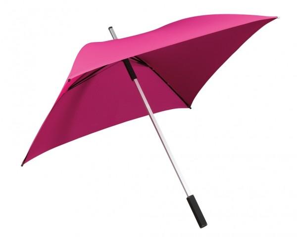 Regenschirm quadratisch Charlie rosa