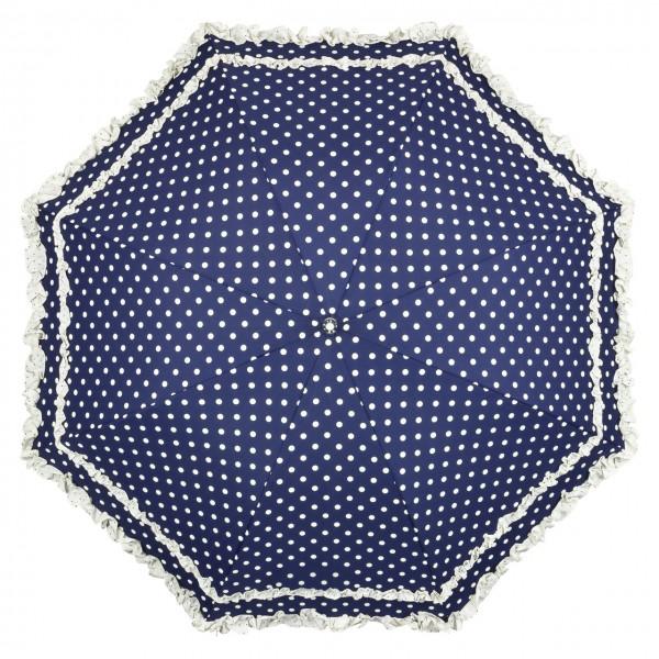 """Regenschirm Sonnenschirm Automatikschirm """"Mary"""", Punkte"""