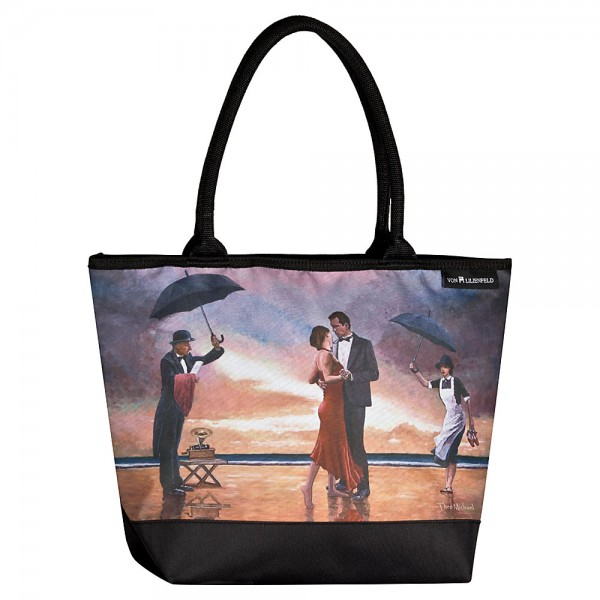Tote Bag Shopping Art Theo Michael: Hommage to the Singing Butler