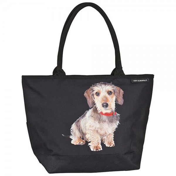 Tote Bag Shopping Dog Wire-Haired Dachshund