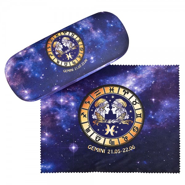 Glasses case Sign of Zodiac Gemini