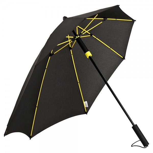 Regenschirm Sturmschirm Alex, gelb