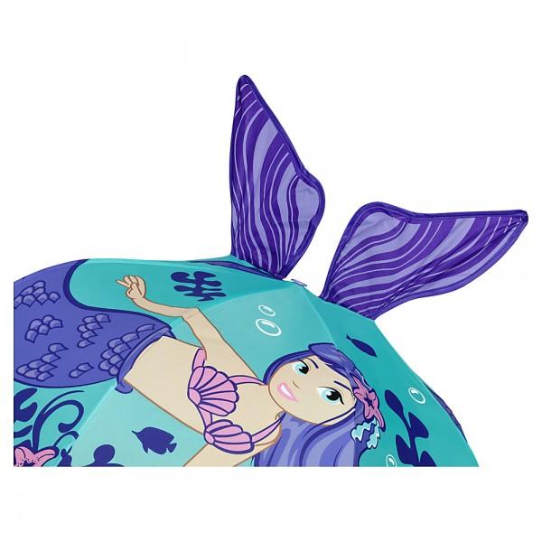 """Kinderschirm """"Meerjungfrau"""" (bis ca. 8 Jahre)"""
