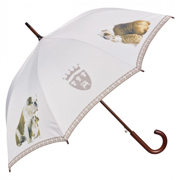 Umbrella Automatic Dog English Bulldog