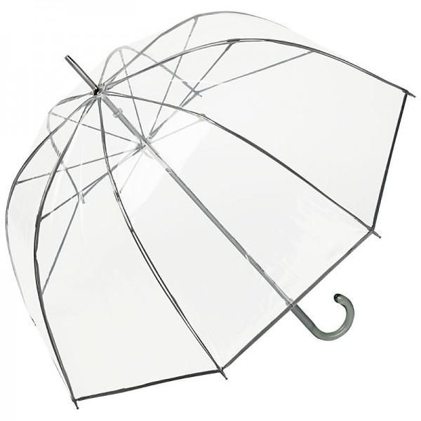 """Regenschirm transparent """"Melina"""", grau"""