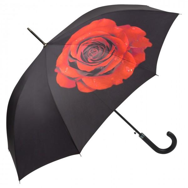 Regenschirm Blumen Motiv Rose