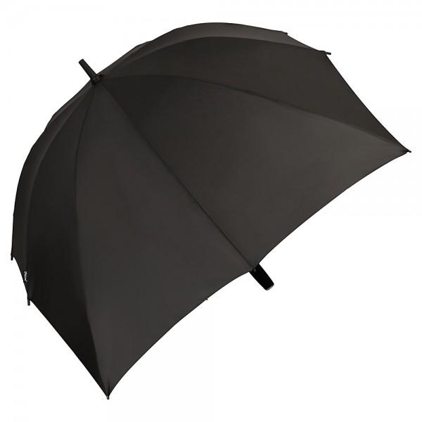 Regenschirm Partnerschirm Maxi schwarz