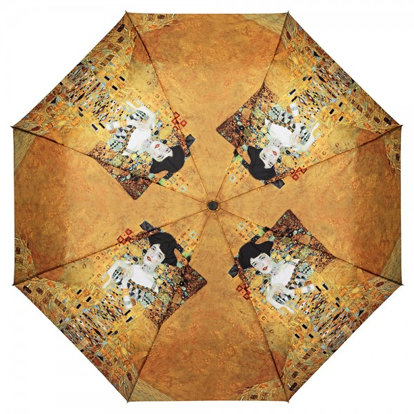 Folding Pocket Umbrella Automatic Telescopic Gustav Klimt: Adele