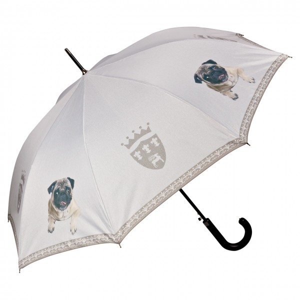 Umbrella Automatic Dog Pug
