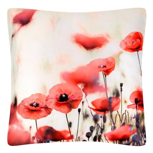 Cushion 40 x 40 Poppies