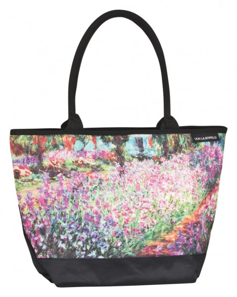 Tote Bag Shopping Art Claude Monet: The Garden