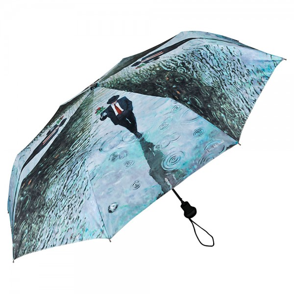 Folding Pocket Umbrella Automatic Telescopic Theo Michael: Romance