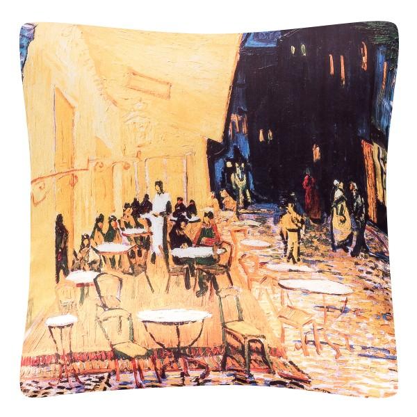 Cushion 40 x 40 Vincent van Gogh: Nightcafe