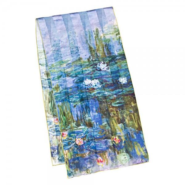 "Seidenschal Claude Monet: ""Seerosen"""