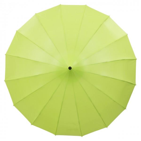 "Regenschirm Sonnenschirm Pagode ""Cécile"", limone (metallic)"