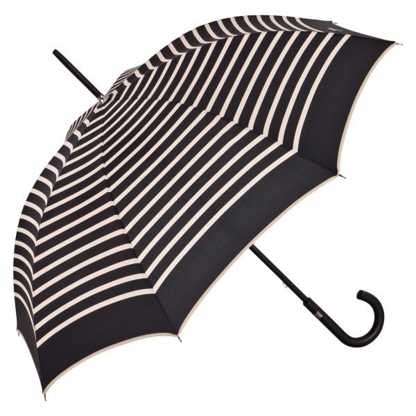 """Jean Paul Gaultier Regenschirm Automatik """"Marius"""", schwarz"""