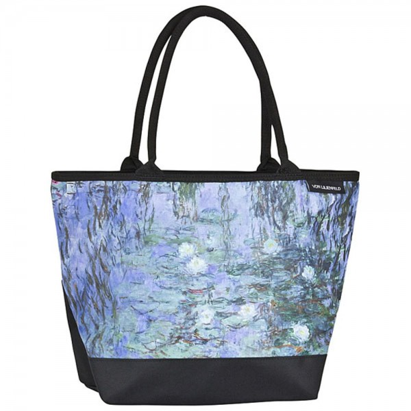 Tote Bag Shopping Art Claude Monet: Waterlilies
