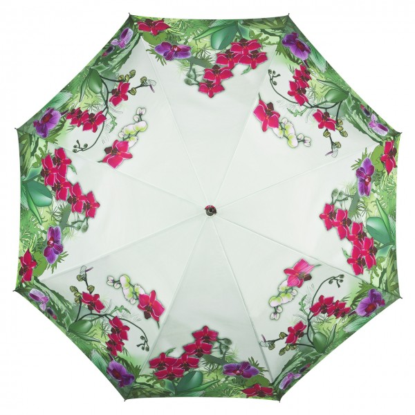 Umbrella Automatic Flower Orchids