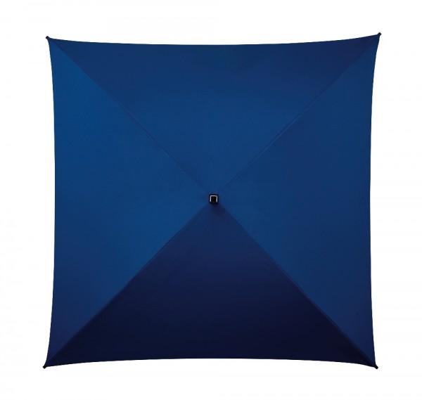 Regenschirm quadratisch Charlie blau
