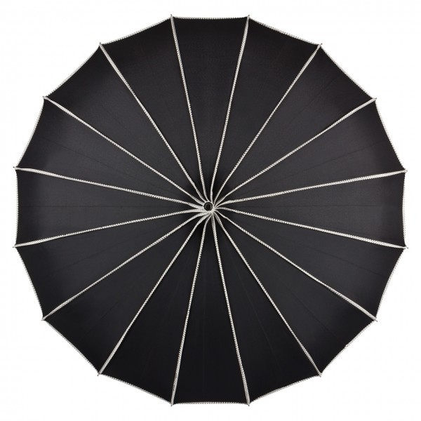 Pagoda Umbrella Juistine, black