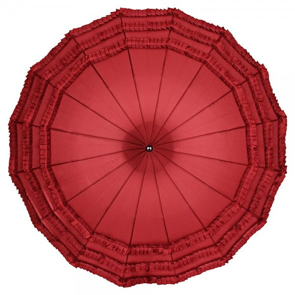 Pagoda umbrella Sarah, burgundy