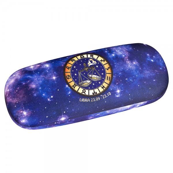 Brillenetui  Hardcase Sternzeichen Horoskop Waage Libra