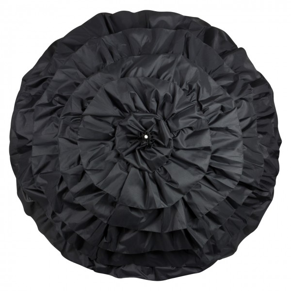 "Deisgn umbrella ""Mia"", black"