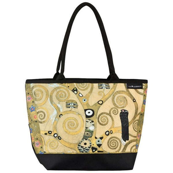 Tote Bag Shopping Art Gustav Klimt: Tree of Life