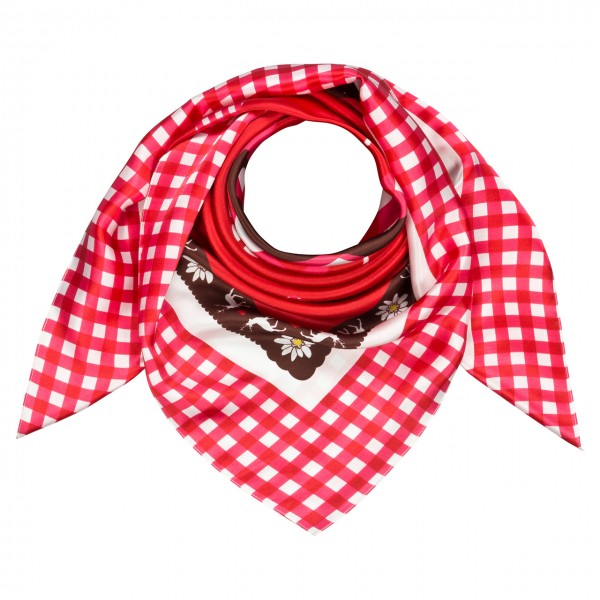 "Scarf ""Deer and Heart"""