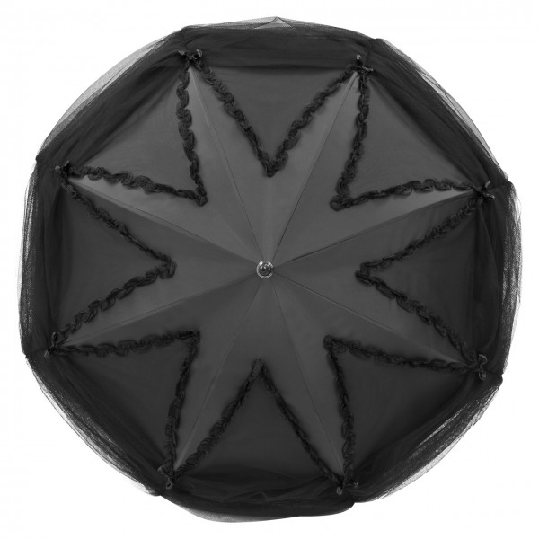 "Design Umbrella ""Valerie"", black"