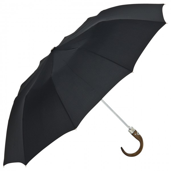"Design umbrella (Folding umbrella) ""Quinn"", black"