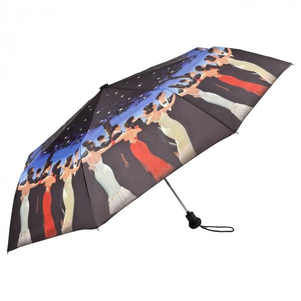 "Folding umbrella Jack Vettriano: ""Waltzers"""