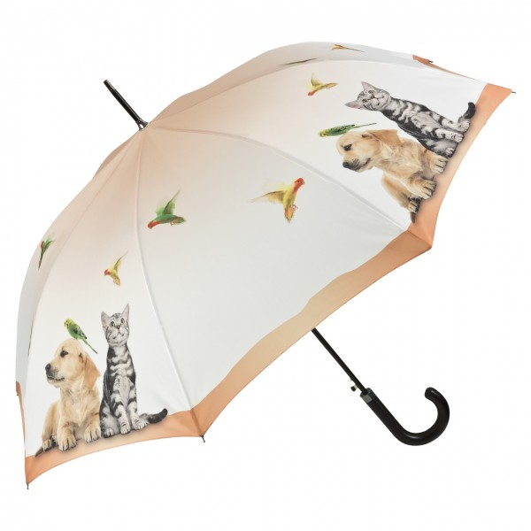 Umbrella Automatic Motif Animal Life