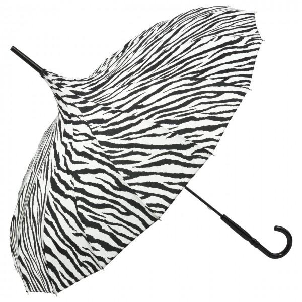 """Regenschirm Pagode """"Cécile"""", Zebra"""