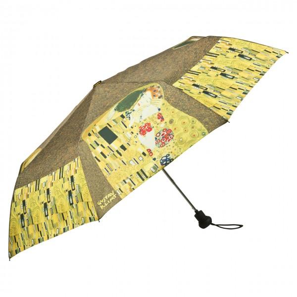 """Taschenschirm Gustav Klimt: """"Der Kuss"""""""