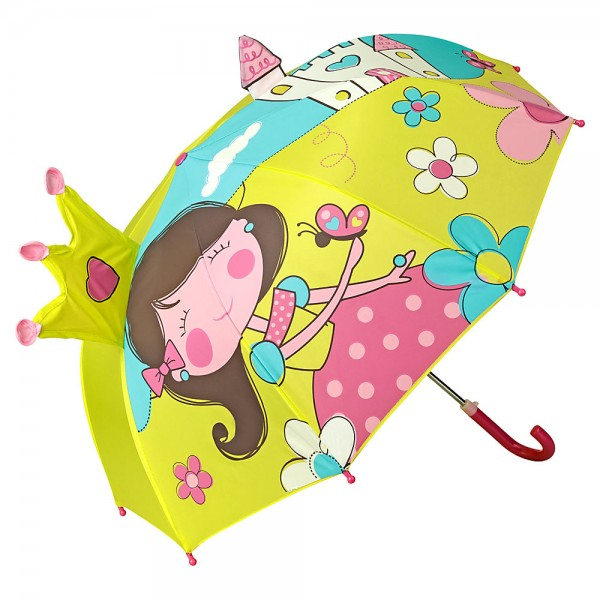Children umbrella Princess with Castle (up to age 8)