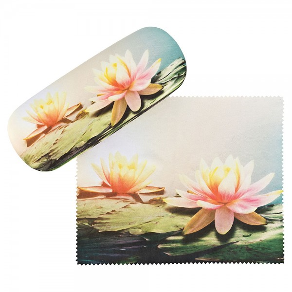 Glasses case Water Lilies
